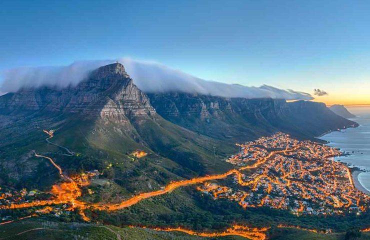 Географическое положение ЮАР