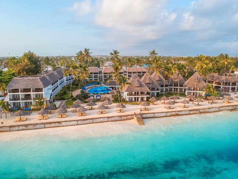 Отели на популярных курортах Танзании